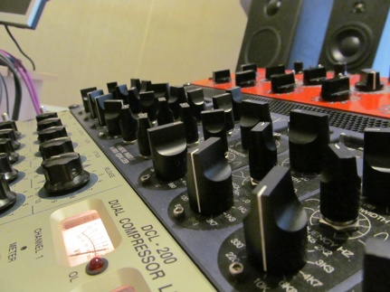 album mastering equipment
