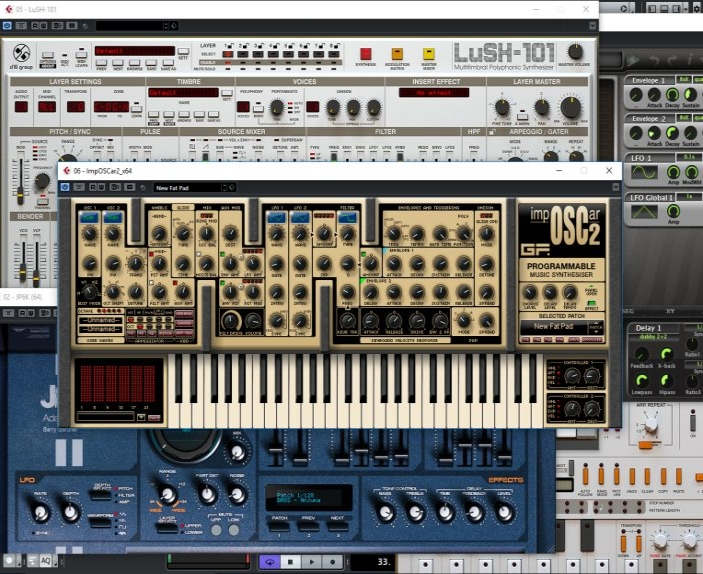 mastering synthesizer music